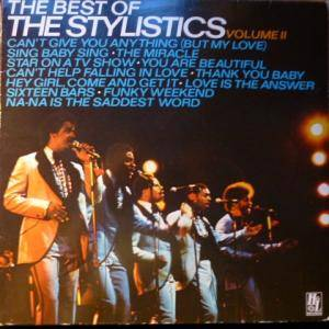 Cover - Stylistics, The: Best Of The Stylistics Volume II, The