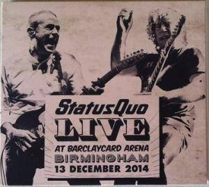 Status Quo: Live At Barclaycard Arena, Birmingham - Cover