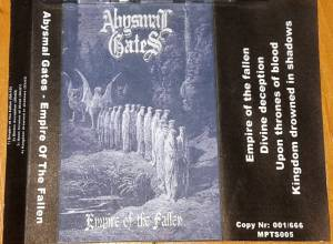 Cover - Abysmal Gates: Empire Of The Fallen