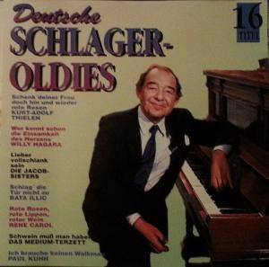 Cover - Günter Wewel: Deutsche Schlager - Oldies