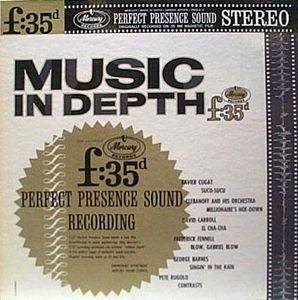 Cover - Pete Rugolo: Music In Depth F:35d