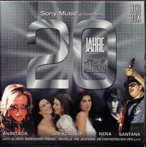 Sony Music Präsentiert: 20 Jahre Compact Disc - Cover