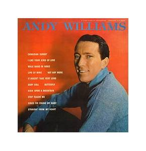 Cover - Andy Williams: Andy Williams