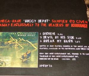 Jerry Cantrell: Kerrang! The Ultra Collection: Boggy Depot (CD) - Bild 2
