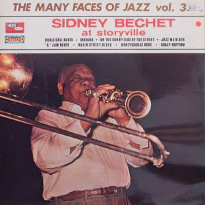 Cover - Sidney Bechet: At Storyville