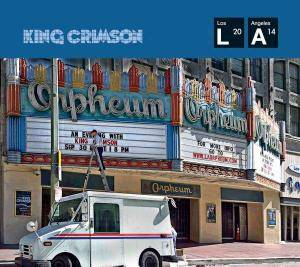 King Crimson: Live At The Orpheum - Cover
