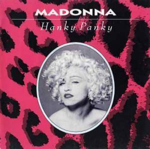 Madonna: Hanky Panky - Cover