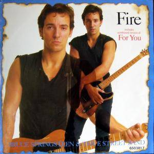 Cover - Bruce Springsteen & The E Street Band: Fire