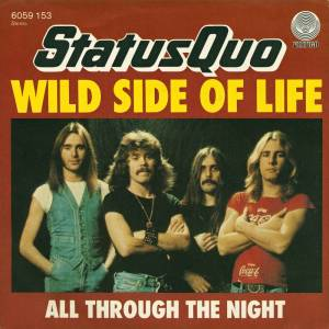 Status Quo: Wild Side Of Life - Cover