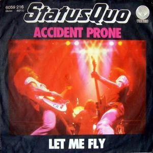 Status Quo: Accident Prone - Cover