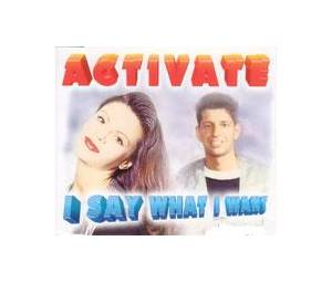 Cover - Activate: I Say What I Want