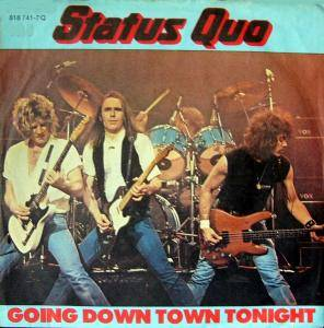 Status Quo: Going Down Town Tonight - Cover