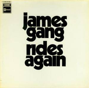 James Gang: Rides Again - Cover