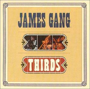 Cover - James Gang: Thirds