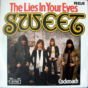 The Sweet: Lies In Your Eyes, The - Cover