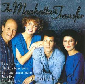 Cover - Manhattan Transfer, The: Touch Of Class, A