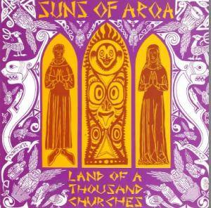 Cover - Suns Of Arqa: Land Of A Thousand Churches