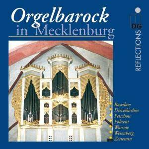 Cover - Johann Christoph Kellner: Orgelbarock in Mecklenburg