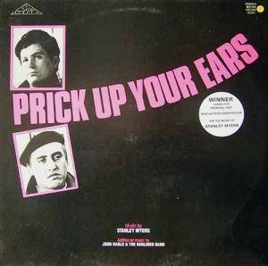 Cover - Stanley Myers: Prick Up Your Ears (Original Motion Picture Score)