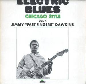 Cover - Jimmy Dawkins: Electric Blues Chicago Style