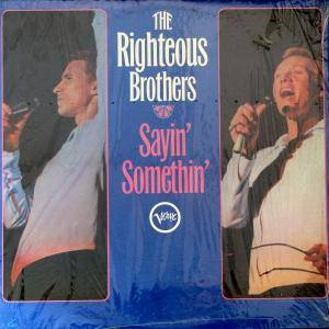 Cover - Righteous Brothers, The: Sayin' Somethin'