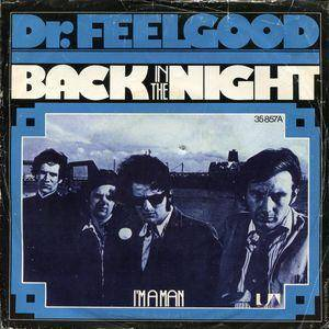 Cover - Dr. Feelgood: Back In The Night