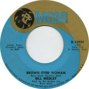 Cover - Bill Medley: Brown Eyed Woman