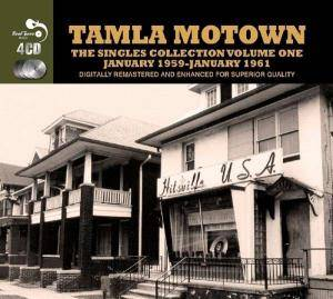Cover - Satintones, The: Tamla Motown. The Singles Collection Volume One. January 1959-January 1961
