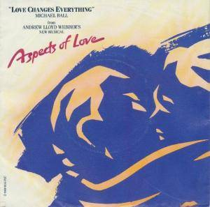 Cover - Michael Ball: Love Changes Everything