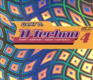 Cover - Junkfood Junkies: Gary D. Presents D-Techno 4