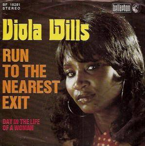 Cover - Viola Wills: Run To The Nearest Exit