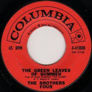 The Brothers Four: Green Leaves Of Summer, The - Cover