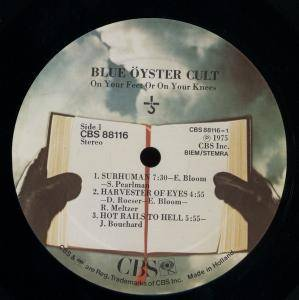 Blue Öyster Cult: On Your Feet Or On Your Knees (2-LP) - Bild 5