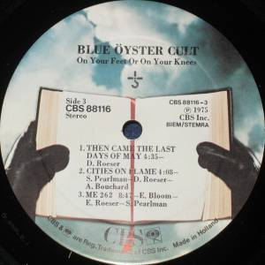 Blue Öyster Cult: On Your Feet Or On Your Knees (2-LP) - Bild 8