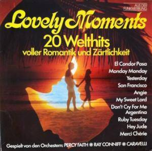 Cover - Caravelli: Lovely Moments - 20 Welthits Voller Romantik Und Zärtlichkeit