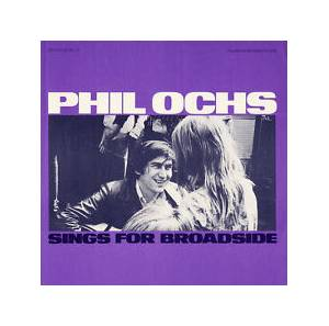 Cover - Phil Ochs: Sings For Broadside