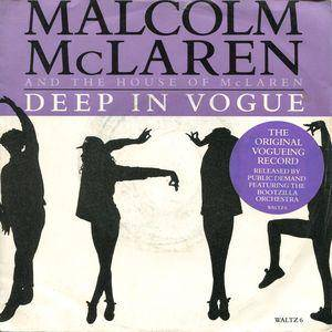 Cover - Malcolm McLaren & The Bootzilla Orchestra: Deep In Vogue