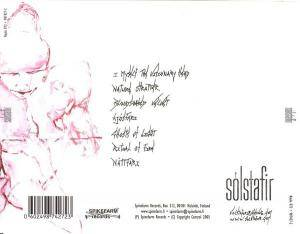 Sólstafir: Masterpiece Of Bitterness (CD) - Bild 2