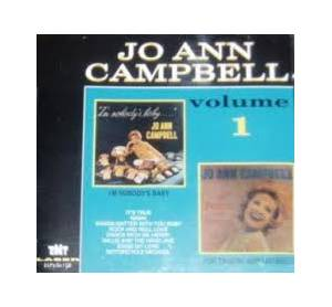 Cover - Jo Ann Campbell: I'm Nobody's Baby / For Twistin' And Listenin'