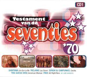 Cover - Unit Gloria: Testament Van De Seventies: CD 01 / 70