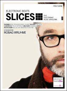 Slices - The Electronic Music Magazine. Issue 2-13 - Cover