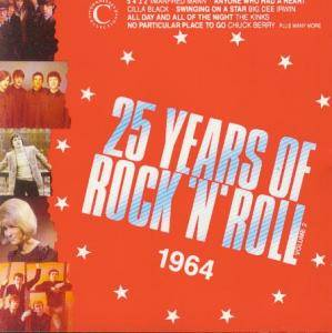 Cover - Eden Kane: 25 Years Of Rock 'n' Roll  1964 - Volume 2