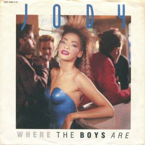 Cover - Jody Watley: Where The Boys Are