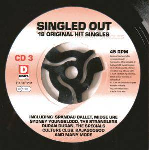 Singled Out 18 Original Hit Singles CD3 - Cover
