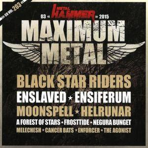 Cover - A Forest Of Stars: Metal Hammer - Maximum Metal Vol. 203