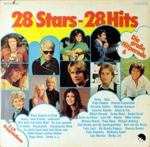 Cover - Richard Anthony: 28 Stars 28 Hits