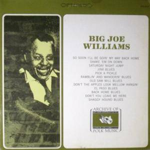 Cover - Big Joe Williams: Big Joe Williams