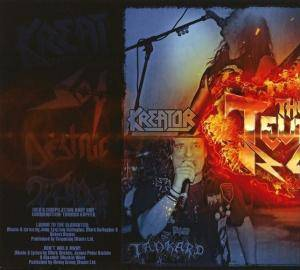 Kreator / Sodom / Tankard / Destruction: The Big Teutonic 4 - Part II (Split-Promo-Mini-CD / EP) - Bild 2