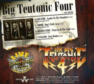 Kreator / Sodom / Tankard / Destruction: The Big Teutonic 4 - Part II (Split-Promo-Mini-CD / EP) - Bild 4