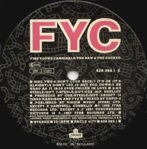 Fine Young Cannibals: The Raw & The Cooked (LP) - Bild 4